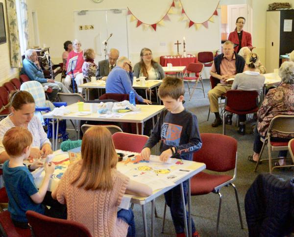 Cafe Church, held in The Institute, Gt Barton, every 3rd Sunday of the month. 9.00am