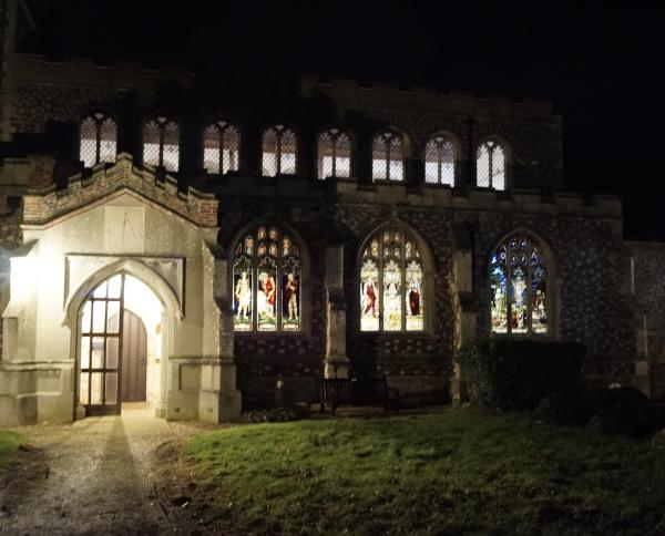 Holy Innocents at night